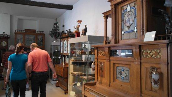 Siegfried's Mechanisches Musikkabinett: в музее