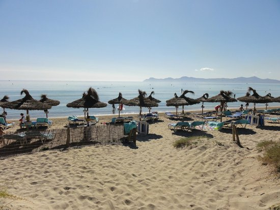 IBEROSTAR Playa de Muro Village: direkter Zugang vom Hotel zum Strand
