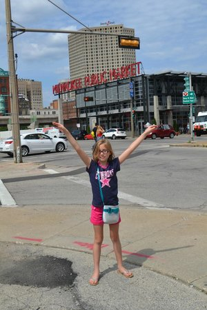 Milwaukee Public Market: My babygirl loves to drop in