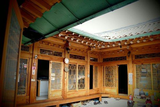 Tea GuestHouse: patio