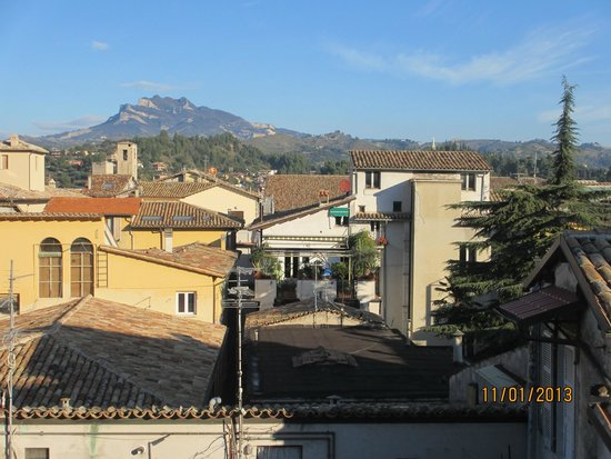 Palazzo Guiderocchi: View from room 50
