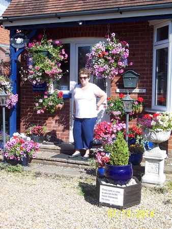 Rosedale Bed and Breakfast: Jane (cousin) at Rosedale B&B July 2014