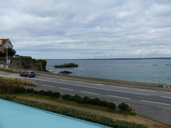 Hotel Restaurant de l'Ocean: view from the balcony