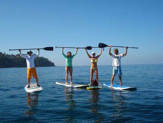 Jaco, Costa Rica: SUP with Tiger Surf School!