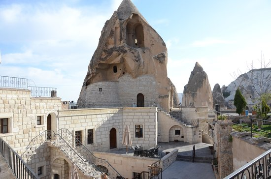Cappadocia Cave Suites: within the CCS