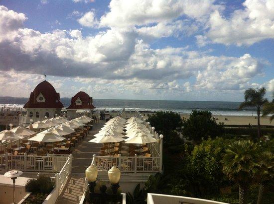 Hotel del Coronado: sun deck
