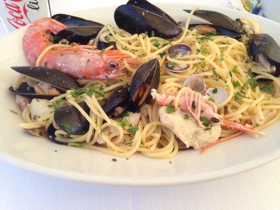 Sarabanda: Delicious seafood spaghetti