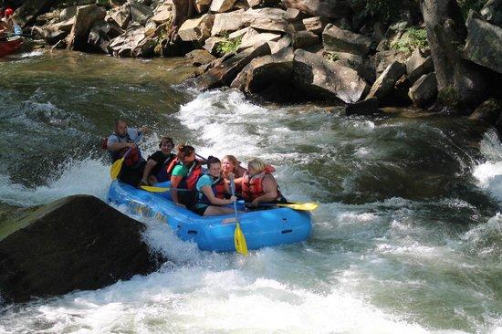 Carolina Outfitters: class 3 rapids
