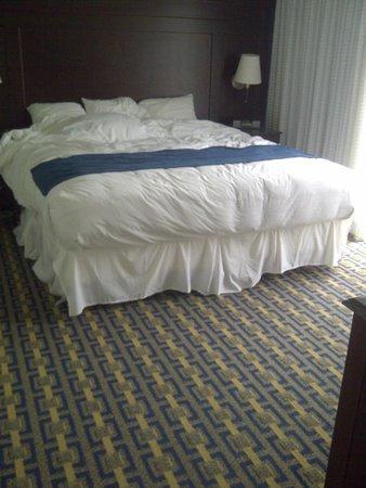 Newport Beach Hotel and Suites: Smaller bedroom, very nice room.