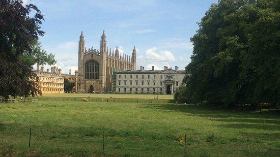 Cambridge Bike Tours: King's College