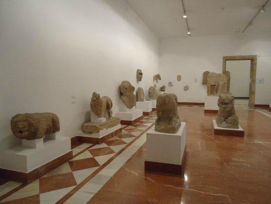 Museo Arqueológico de Sevilla: Una de las tantas salas.