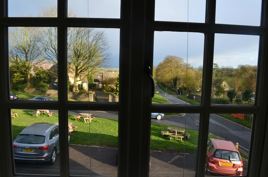 The Bell at Stow: View from room 4