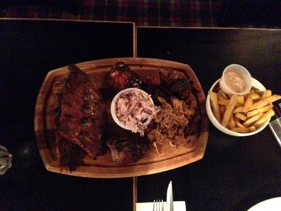 Bodean's BBQ - Soho: Bodean's Platter