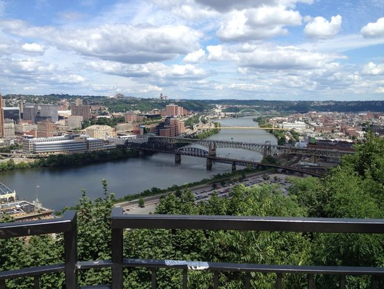 Monongahela Incline: View from top