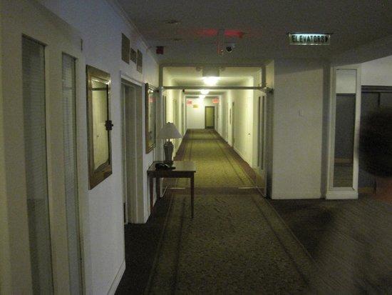 Hotel Pennsylvania New York : Korridor till rummen
