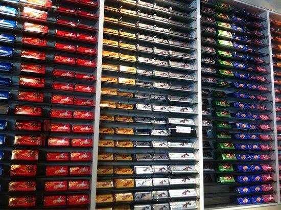 Maison Cailler Chocolaterie : Que de tablettes !!!