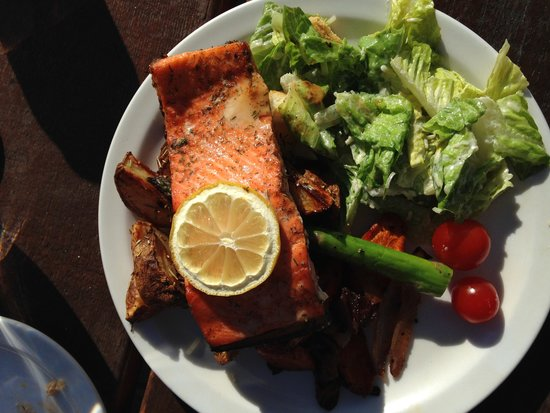 Canadian Wilderness Adventures: Even the food was beautiful