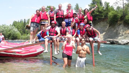 Novaraft - Private Day Adventures: Slovakian team with Instructors