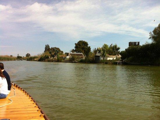 Parque Natural de la Albufera: viaje en barco-1