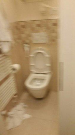 Hotel Taurus: Neanche la possibilità di una doccia al rientro dopo aver visitato la splendida praga.