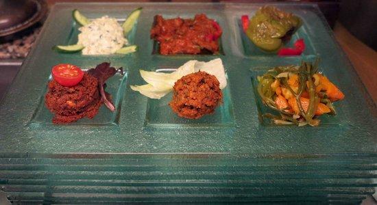 Pasazade Restaurant Ottoman Cuisine: Mezze Platter_Paşazade, Istanbul
