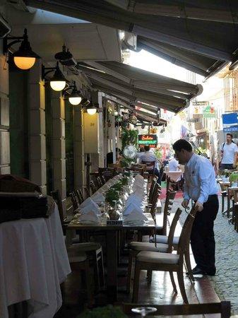 Pasazade Restaurant Ottoman Cuisine: Outdoor seating_Paşazade, Istanbul
