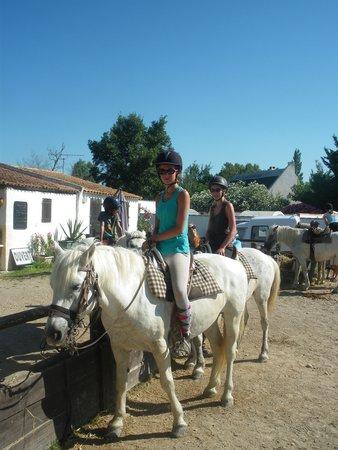 Promenade à cheval, Chez Elise : C'est le départ ! ...