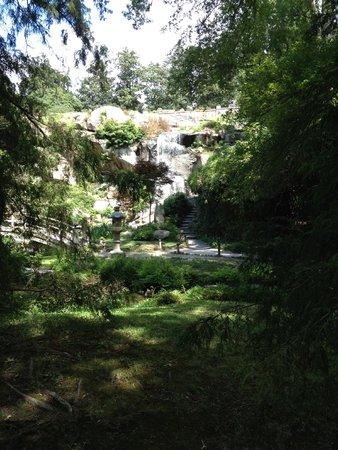 Maymont : Japanese gardens & waterfall