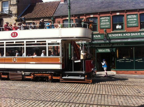 Beamish Museum: A Tram!