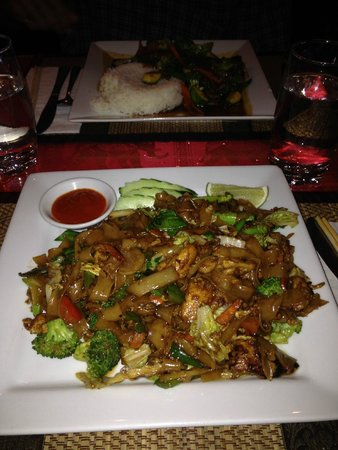 Restaurant thaïlandais Chanchai : Pad See Cew with Chicken