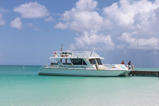 Club Med Turkoise, Turks & Caicos : Scuba boat
