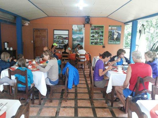 Erupciones Inn Bed And Breakfast: Breakfast area