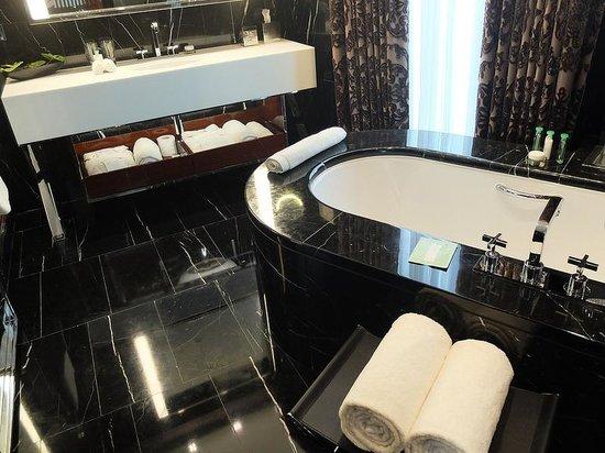 Bulgari Hotel, London: Bathroom
