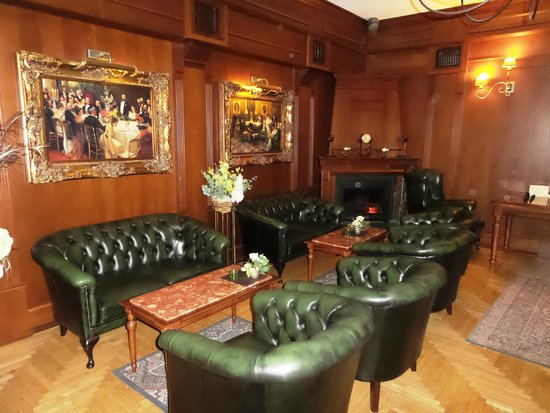 Grand Boutique Hotel Sergijo: gemütliche Lounge
