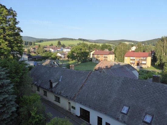Schlosshotel Zdikov: view from room