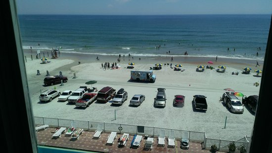 Boardwalk Inn and Suites : View from room