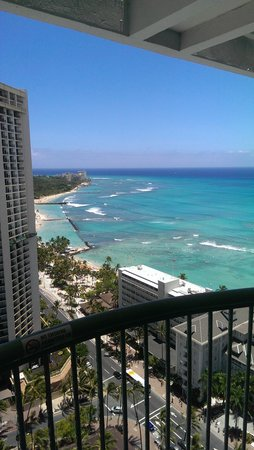 Sheraton Princess Kaiulani: couldn't ask for better,  for the price.
