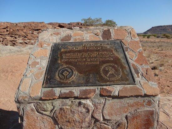 Twyfelfontein: Patrimonio dell'Unesco