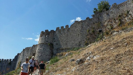 Mystras : Fortress wall