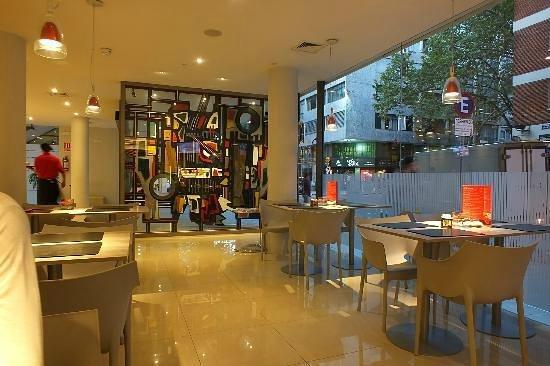 Orpheo Express Hotel: Hall e café
