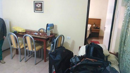 Bosetti Apart Hotel: comedor-con cama