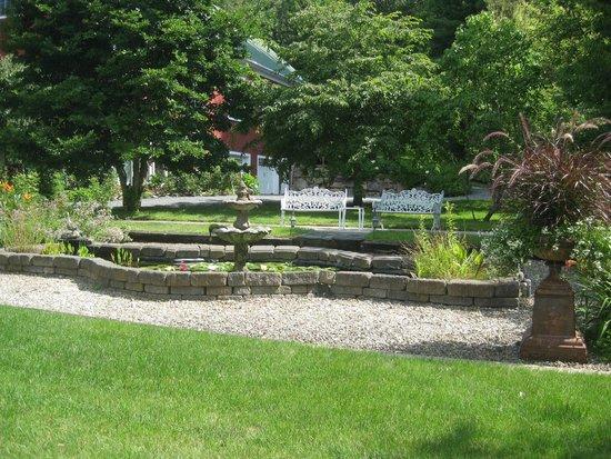 Bristol, NH: terraced garden