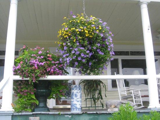 Inn On Newfound Lake : Hanging baskets
