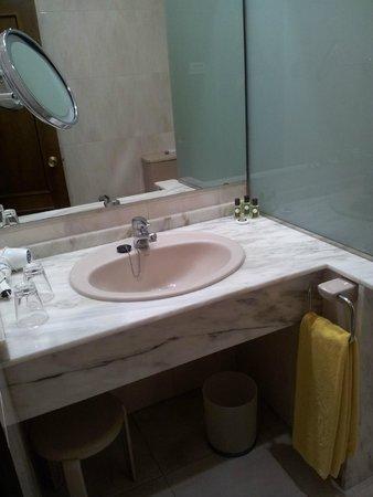 Hernan Cortes Hotel : Lavabo