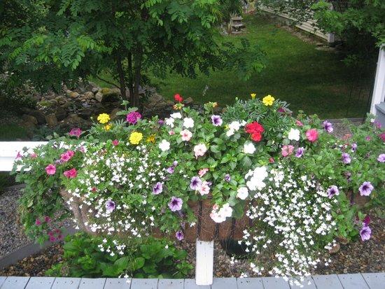 Inn On Newfound Lake : Gorgeous gardens