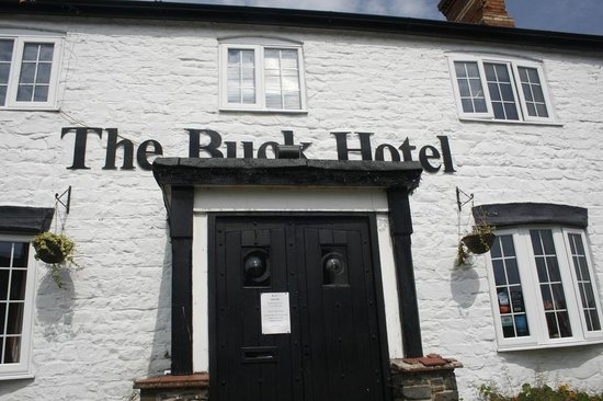 The Buck Hotel: The hotel from the front