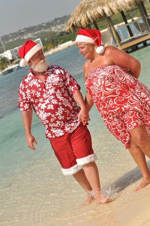 Sandals Royal Caribbean Resort and Private Island: Santa and the Mrs, loved their Sandals vacation!