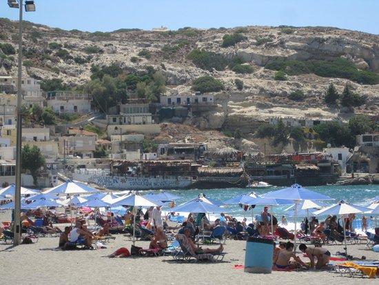 Princess Europa Hotel: plage de matala (10mns à pieds)