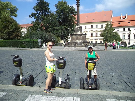 Prague On Segway : Ellie and Sandra