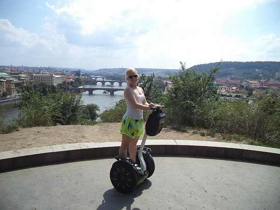 Prague On Segway : Ellie our host